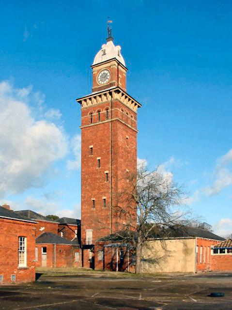 Whitecroft Hospital Clocktower