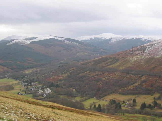 Lochearnhead from above