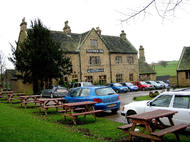 Hardwick Inn viewed from the car park