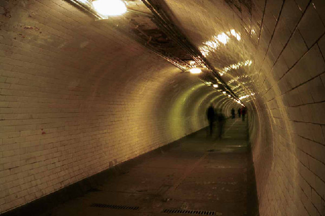 Greenwich Foot  Tunnel under River Thames