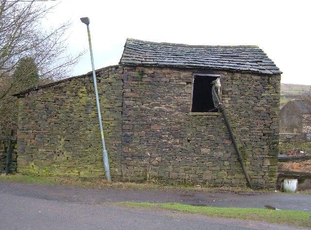 Derelict barn, Shawforth, Lancashire