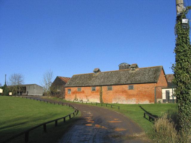 Farm buildings, Newland Hall, Roxwell
