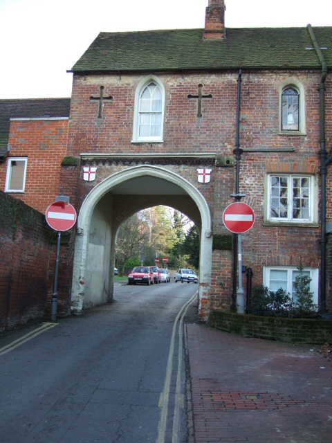 Arch Leading to Rose Hill