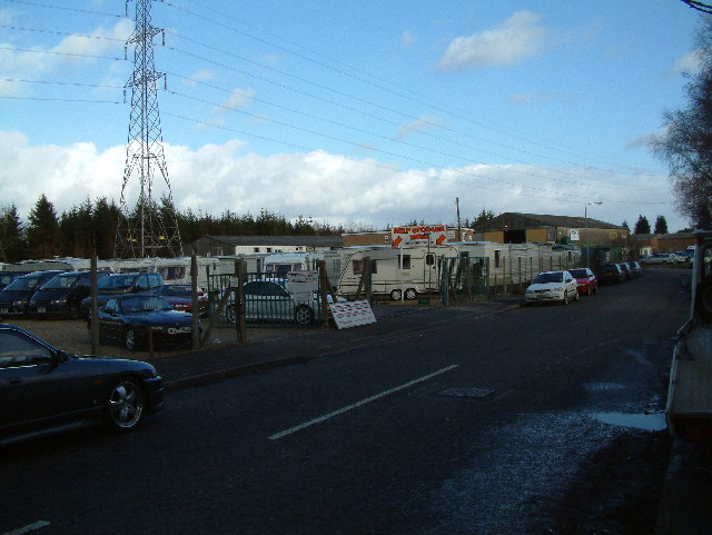 Industrial Estate, West Moors