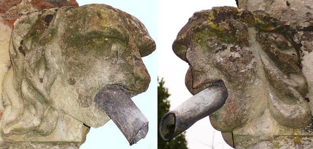 Gargoyles on Birling church