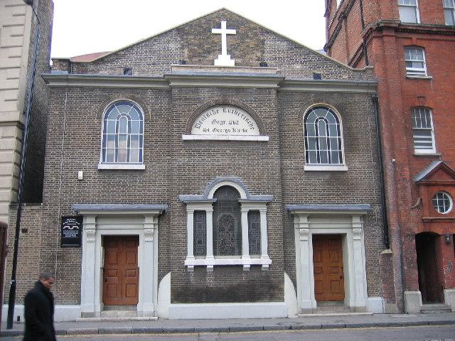 St Georgs Kirche, Whitechapel, E1