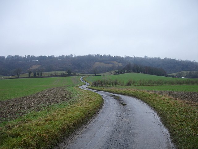 North Downs west of Trottiscliffe/Trosley