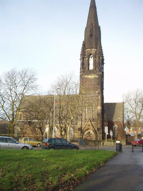 Wrangthorne Church, Hyde Park, Leeds