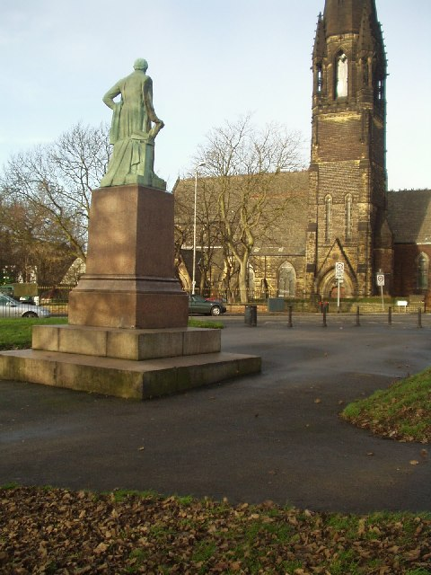 Statue of Robert Peel, Woodhouse Moor, Leeds