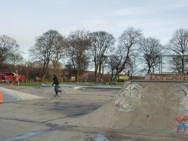 Skateboard Park, Woodhouse Moor, Leeds