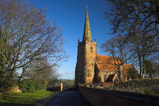St. Cuthbert's, Church End.