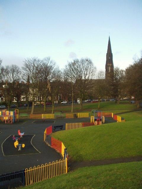 Children's playground, Woodhouse Moor, Leeds