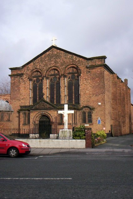 St Alban's Roman Catholic church, Warrington