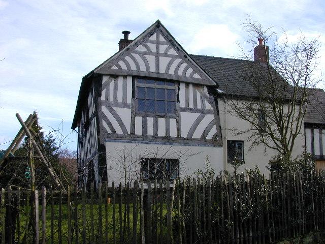 Chantry House, Bunbury, built 1527