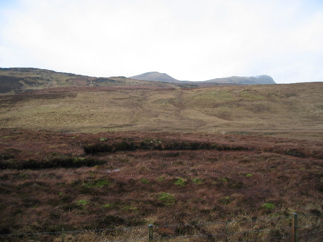 Moorland east of Pein a' Chlèibh