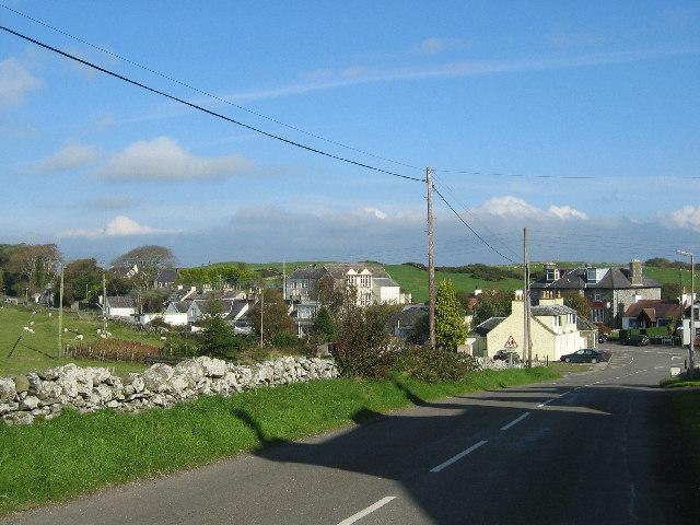 Borgue Village