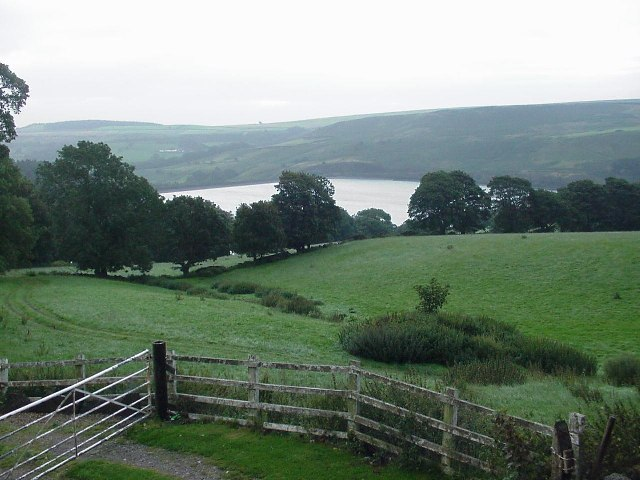 View of Strines Reservoir