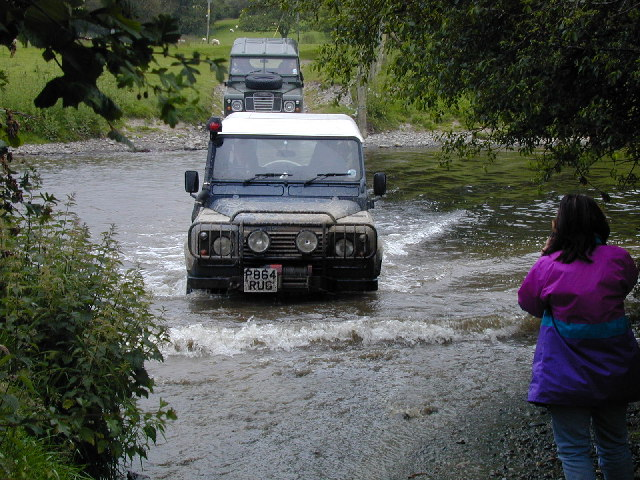 Ford through the River Alwen near Corwen