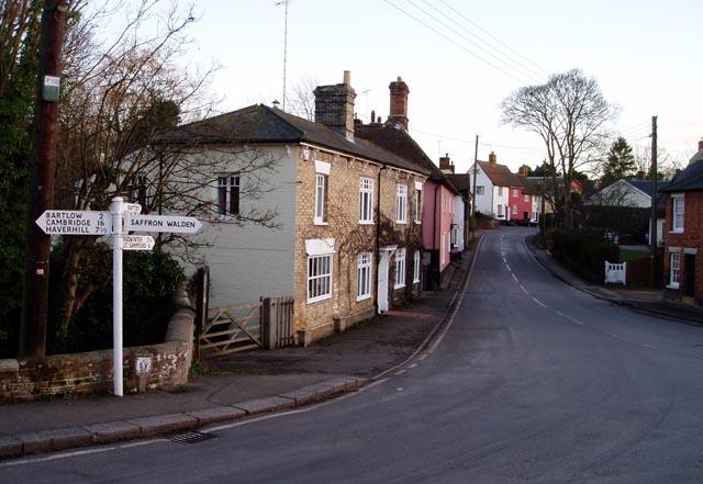 Ashdon village centre