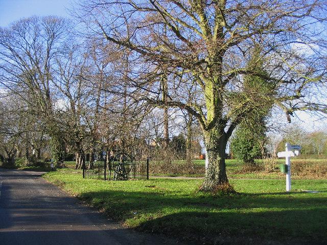 Village Green, High Easter, Essex