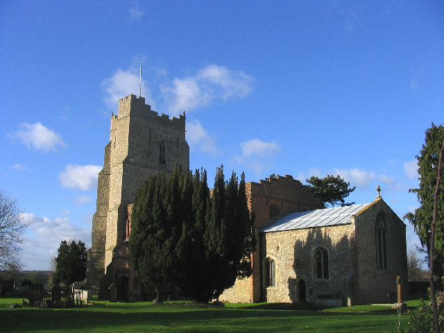 The church of St Mary the Virgin, High Easter