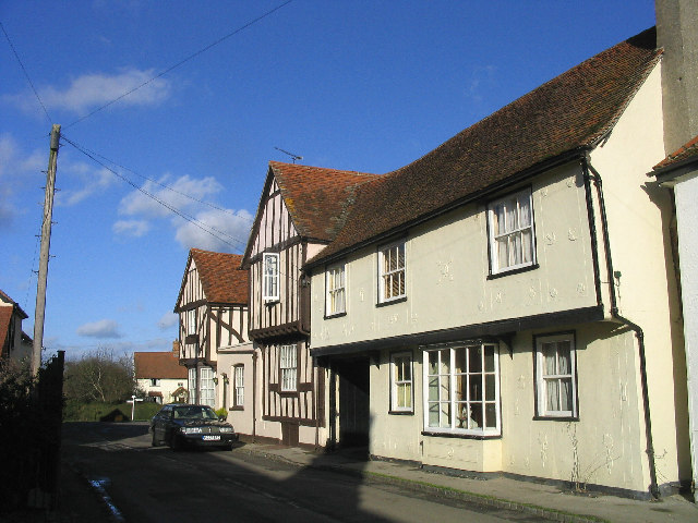 15th century cottages, High Easter