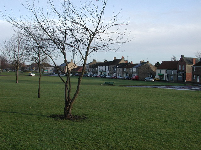 West Auckland village green