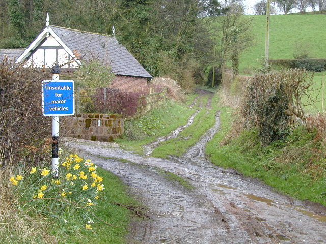 Byway at Kidnall Hill