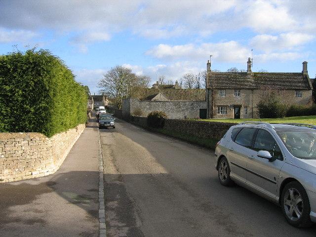 Street in Sherborne