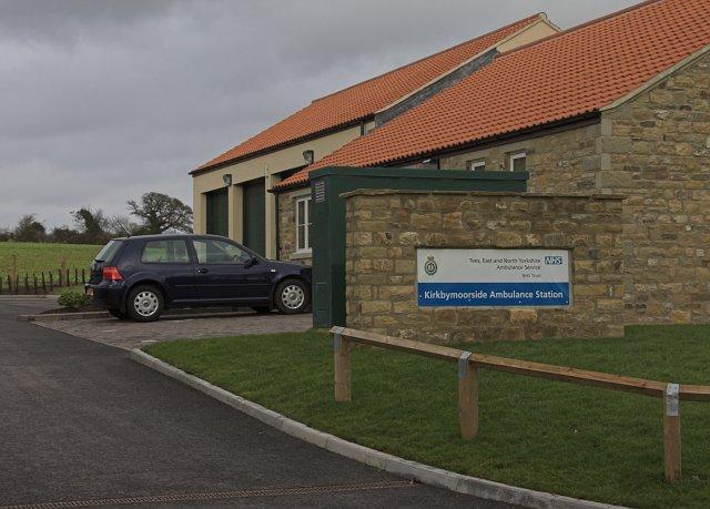 Kirkbymoorside Ambulance station