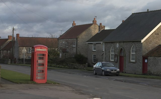 Telephone box at Gillamoor