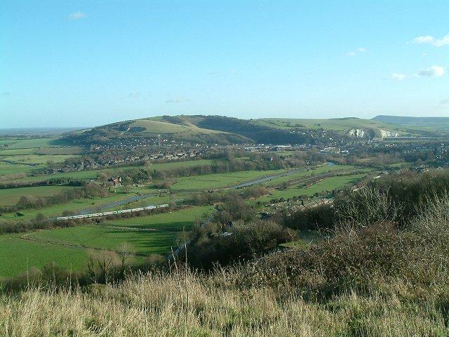 Malling Brooks near Lewes