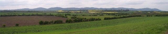 Malvern Hills from Longdon