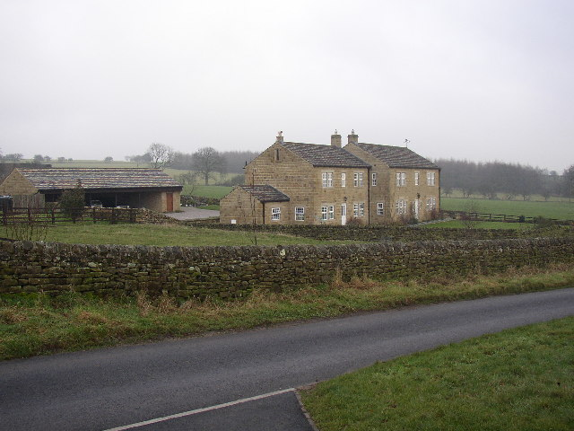 Houses opposite Lindley Hall Farm, Lindley, North Yorkshire