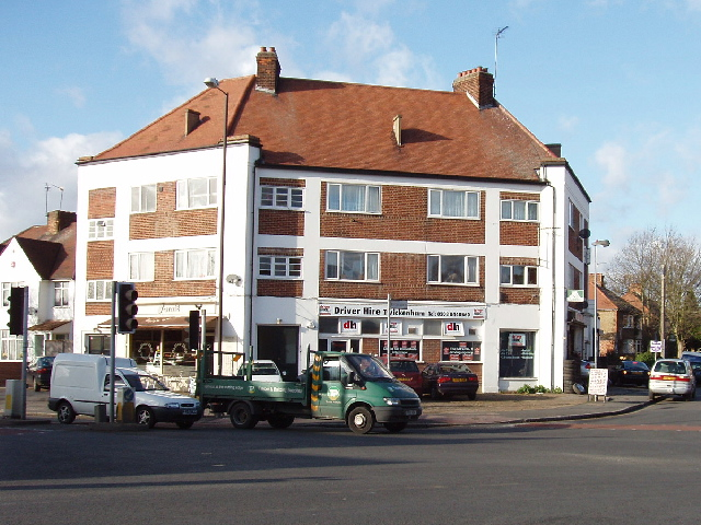 Shops near Baber Bridge, Hounslow