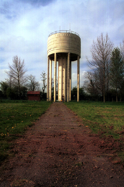 Water Tower at South Elmham St Michael, Suffolk