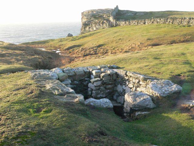 St. Gwenfaen's Well, Rhoscolyn Head, Ynys Gybi.
