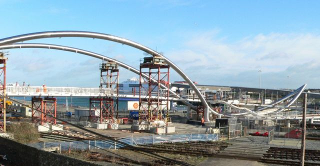 The Celtic Gateway, Holyhead, under construction