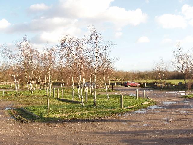 Car park, Hounslow Heath