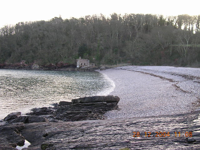 Elbury cove in winter