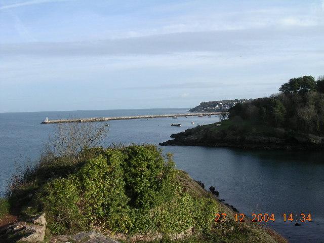 Brixham Breakwater from Fishcombe Point