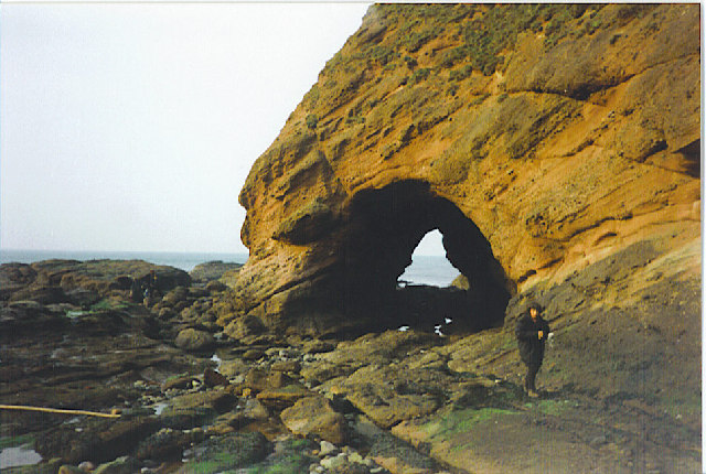 Natural Arch, Aberdour Bay