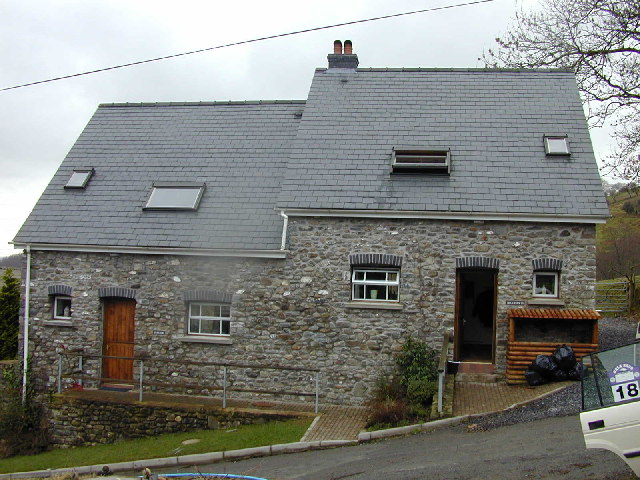 Holiday cottages at Llanerchindda Farm