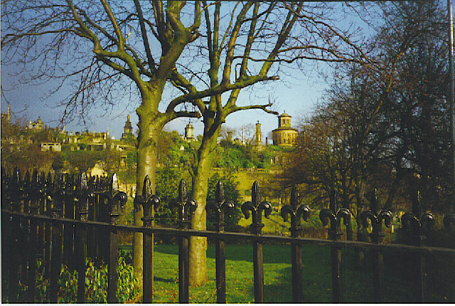 The Necropolis, Glasgow.