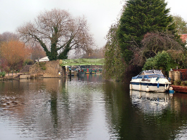 Bridge over The River Lea at Nazeing