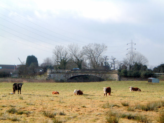 Bridge over the River Penk , Baswich Road