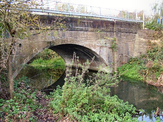 Railway Bridge at Old Mill Broxbourne