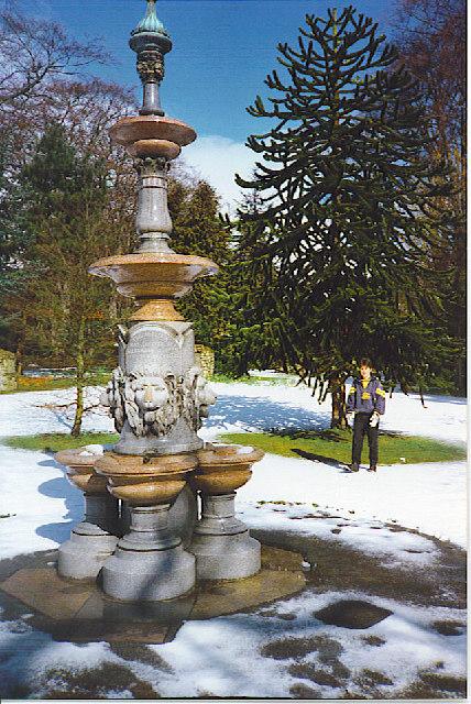Alexander Cooper Fountain, Hazlehead