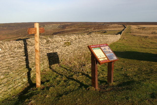 Cleveland Way on Little Moor