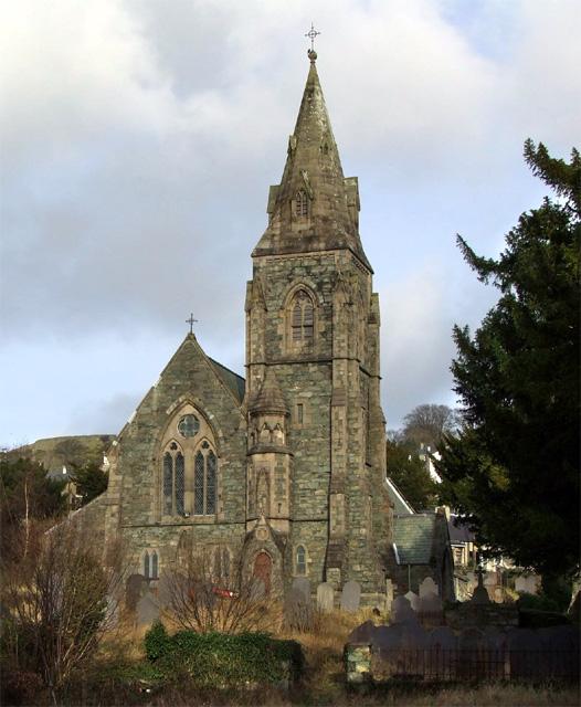 Glanogwen church